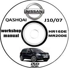 Workshop Manual,Manuale Officina Nissan Qashqai J10 anno 2007