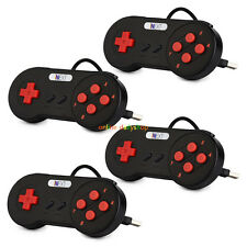 4 × SNES USB Controller For PC/Mac Super Nintendo Games Retro Classic Gamepad US