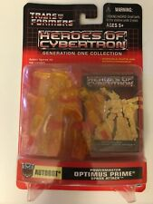 Hasbro Transformers Heroes Of Cybertron Powermaster Optimus Prime Figure MOC