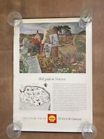 Vintage Shell Posters The Key To The Countryside X 6