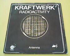 45 TOURS SP KRAFTWERK RADIOACTIVITY PATHE MARCONI EMI 2C 010 82119 DE 1976
