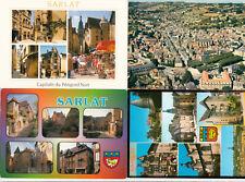 Lot 4 cartes postales DORDOGNE SARLAT 3