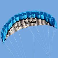 Sport Zone High Quality Kite 2.5m Trainer Kite for Kitesurfing Blue Freeshipping