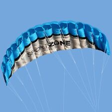 Sport Zone High Quality Kite 2.5m Trainer Kite for Kitesurfing Blue freeship