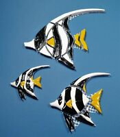 Mosaiksteine-Korallenfisch-Wimpelfisch-Fisch-in 3 verschied. Grössen