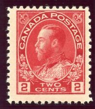 Canada 1911 KGV 2c rose-red MLH. SG 200.