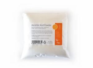 L Ascorbic Acid Vitamin C E300 Non GMO 100% Pure Pharmaceutical Grade Powder.