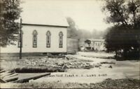 Oriskany Falls NY June 1917 Flood Real Photo Postcard jrf