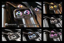 Titanium Dress Up Toyota Supra MkIV TT 1993-2002 Engine Bay Bolt Kit Purple