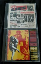 Guns N' Roses G N' R Lies CD 1988  924198-2 DADC EARLY PRESS & Use Your Illusion