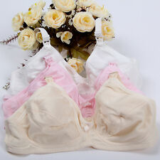 No Wire Pregnant Women Bra Cotton Maternity Breastfeeding Nursing Feeding Bras Pink 40/90c
