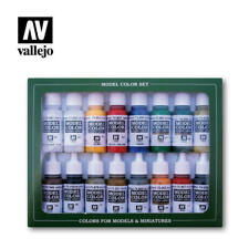 Vallejo Model Color Napoleonic French & British 16 Bottle Paint Set VAL70149