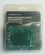 Seeed Arduino Uno Proto Shield Prototype Board Kit Switches LEDs DIY Project