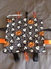 Nightmare Before Christmas Jack Skellington Taggie Security Blanket Pacifier