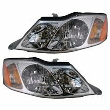 2000 - 2004 TOYOTA AVALON HEADLIGHTS HEADLAMPS LIGHTS LAMPS PAIR
