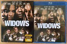 WIDOWS BLU RAY DVD 2 DISC SET + SLIPCOVER SLEEVE FREE WORLD WIDE SHIPPING BUY IT