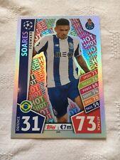 "Champions League Match Attax 17 - 18 = Soares ""Hot Shot"" Card (#233)"