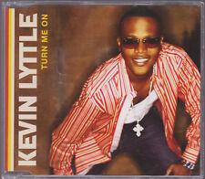 RARE SAMPLE PROMO LIKE NEW CD SINGLE KEVIN LYTTLE - TURN ME ON 3 track