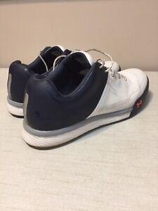 Men's Under Armour Tempo Hybrid 2 Golf Shoes 3000219-100 - Size 9