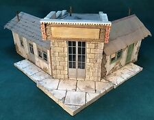 "Rich White Models O/On30/On3 Scale ""Adams Express"" office Hydrocal Walls ONLY"