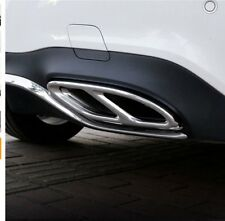 Exhaust Pipe Tips Cover For W213 W205 Coupe W246 W216 GLC GLE GLS CLA (15-19)