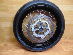 2008 Yamaha WR250X Front Supermoto Wheel Rim Tire