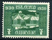 Iceland Mint Hinged Stamps