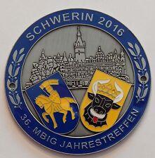 MBIG Plakette 36.Mercedes Jahrestreffen Schwerin W120 W121 W128 W180 W110 W111