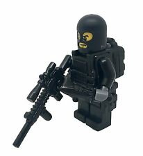 "Special Forces Soldier ""Stakeout"" Army Minifigure made with real LEGO® minifig"
