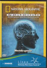 *National Geographic: Cerebro El Organo De La Sabiduría: Nacido Genio (DVD)