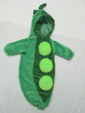Pea Pod costume  Baby Childrens Kids  Costume  hooded jacket 0-9 months A9