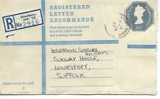 GB - REGISTERED ENVELOPE - SIZE G - 23p - MANCHESTER (MR) 10 - 2916