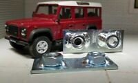 Land Rover Serie 2a 3 Defensor Acople Cinturón Tuerca Placa AFP710440 x2
