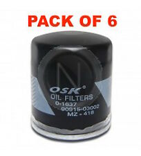 OSAKA Oil Filter Z418 - FOR Toyota Hiace Camry Hiace Hilux LANDCRUISER BOX OF 6