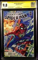 AMAZING SPIDER-MAN #1 CGC SS 9.8 ALEX ROSS VARIANT SLOTT VENOM CARNAGE BLACK CAT