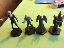 Doctor who eaglemoss figures the Silence, weeping angel, mummy, draconian