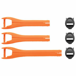 Thor Replacement Strap Kit Orange For Youth Blitz XP Motorcycle Boots - 1-7