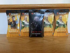 Magic Gathering MTG Guilds of Ravnica Sealed Booster Lot 4 Packs + 35 Card Pack