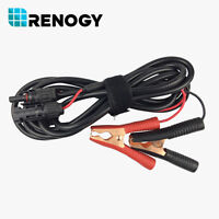 Renogy Alligator Clips with MC4 Female Male Connector Solar Panel Cable PV Wire