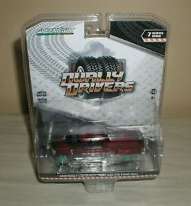 GREENLIGHT green machine '19 ford f-350 dually ruby red and stone gray,series 7