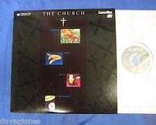 THE CHURCH Goldfish (Jokes, Magic & Souvenirs) Videos USA 1998 Laserdisc 80 min