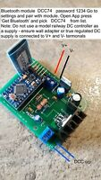 DCC Controller for model railway, App forAndroid phone / tablet