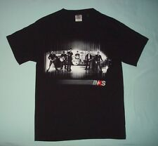 INXS 2006 CONCERT TOUR T SHIRT MENS SMALL S BLACK ROCK BAND 2 SIDED TEE GRAPHIC