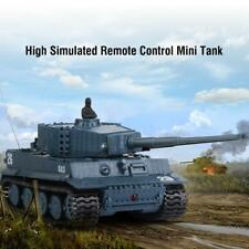 RC Tank 4CH Remote Control Military Battle Tank Toy Model Vehicle Children #^