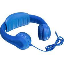 Aluratek Volume Limiting Foam Wired Headphones for Children - Blue