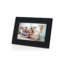 "Smart Internet Android iOS App Wifi Photo Frame 1280 x 800 Pixels 10"" Black"
