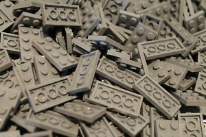 200 x LEGO® Platten / Platte / Plate 2x4 ( 3020 ) in Neu Hellgrau / LBG NEU