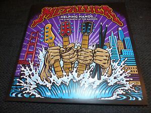 METALLICA signed Autogramm auf HELPING HANDS Vinyl Schallplatte InPerson RAR