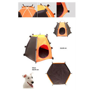 Dog Cat Camping Tents, Pet Travel Bed,Beach Tent, Portable & Waterproof