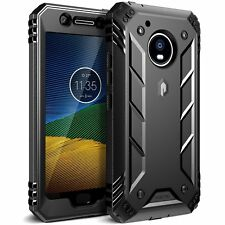 Case For Motorola Moto G5 Poetic【Revolution】Heavy Duty Protection Case Black